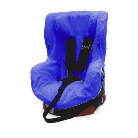 Accessori per il viaggio del bambino - Copriseggiolino in spugna per Axiss Bebe Confort  BC091.00 blu by Babys Clan