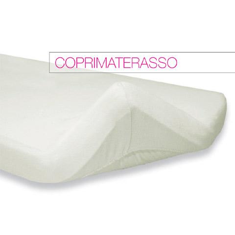 Materassi e linea bianca - Coprimaterasso in spugna per lettino 020.0020 by Italbaby