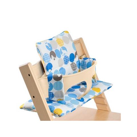 Accessori per la pappa - Cuscino per Baby Set Silhouette blu [100320] by Stokke