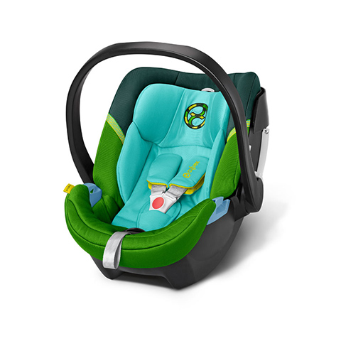 Seggiolini auto Gr.0+ [Kg. 0-13] - Aton 4 Hawaii - green by Cybex