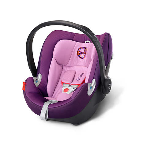 Seggiolini auto Gr.0+ [Kg. 0-13] - Seggiolino auto Aton Q Grape Juice - purple by Cybex