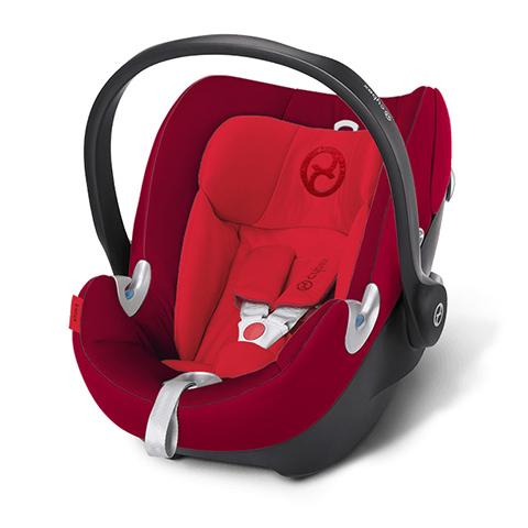 Seggiolini auto Gr.0+ [Kg. 0-13] - Seggiolino auto Aton Q Mars Red - red by Cybex