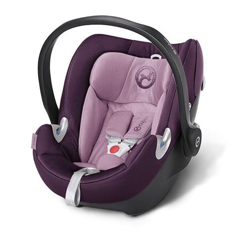 Seggiolini auto Gr.0+ [Kg. 0-13] - Seggiolino auto Aton Q Princess Pink - purple by Cybex