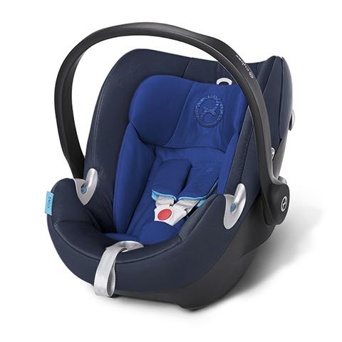 Seggiolini auto Gr.0+ [Kg. 0-13] - Seggiolino auto Aton Q Royal Blue - blue by Cybex