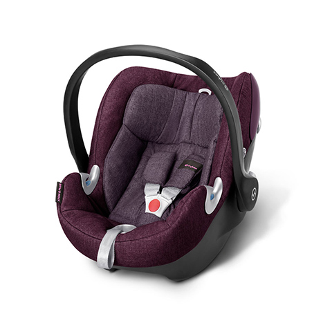 Seggiolini auto Gr.0+ [Kg. 0-13] - Seggiolino auto Aton Q Plus Grape Juice - purple by Cybex