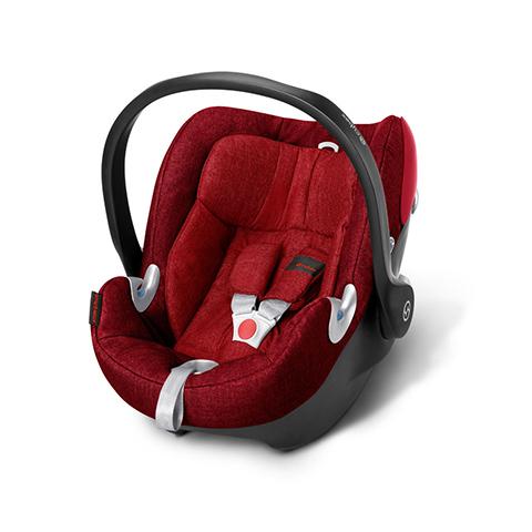 Seggiolini auto Gr.0+ [Kg. 0-13] - Seggiolino auto Aton Q Plus Hot & Spicy - red by Cybex