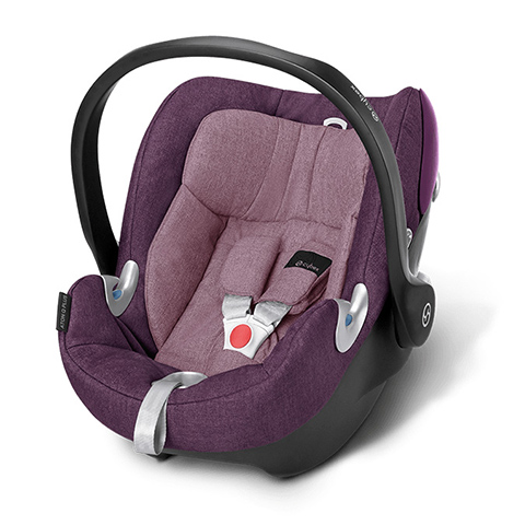 Seggiolini auto Gr.0+ [Kg. 0-13] - Seggiolino auto Aton Q Plus Princess Pink - purple by Cybex