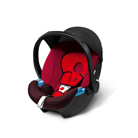 Seggiolini auto Gr.0+ [Kg. 0-13] - Aton Basic Rumba Red - dark red by Cybex