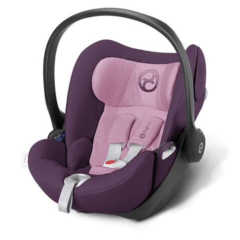 Seggiolini auto Gr.0+ [Kg. 0-13] - Seggiolino auto Cloud Q Princess Pink - purple by Cybex