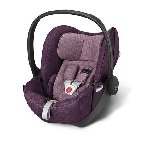 Seggiolini auto Gr.0+ [Kg. 0-13] - Seggiolino auto gruppo 0+ Cloud Q Plus Princess Pink - purple by Cybex