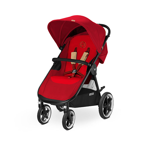 Passeggini - Eternis M4 Hot & Spicy - red by Cybex