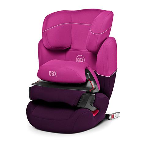 Seggiolini auto Gr.1/2/3 [Kg. 9-36] - Aura-Fix Purple Rain - purple by Cybex