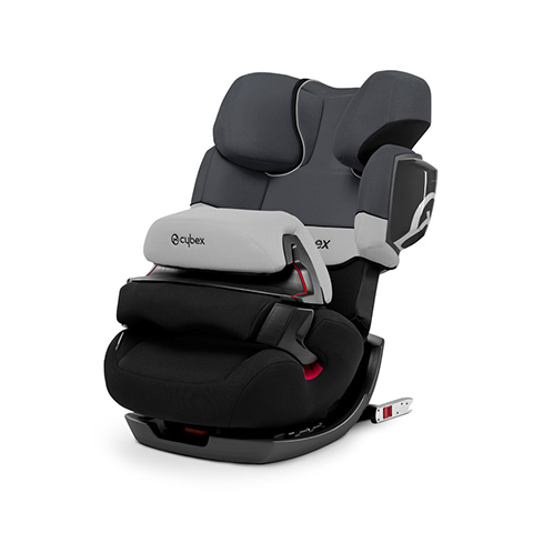 Seggiolini auto Gr.1/2/3 [Kg. 9-36] - PALLAS 2-FIX Gray Rabbit - dark grey by Cybex
