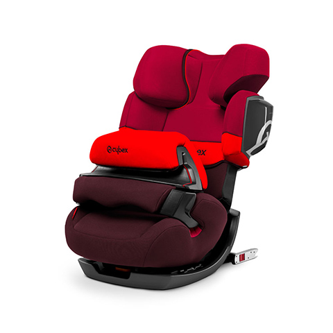 Seggiolini auto Gr.1/2/3 [Kg. 9-36] - PALLAS 2-FIX Rumba Red - dark red by Cybex