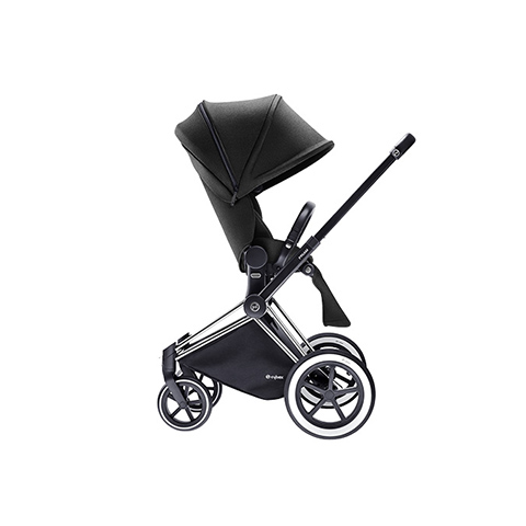 Passeggini - Passeggino Priam con seduta Lux e telaio All Terrain Happy Black - black by Cybex
