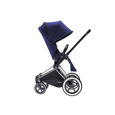 Passeggini - Passeggino Priam con seduta Lux e telaio All Terrain Royal Blue - blue by Cybex