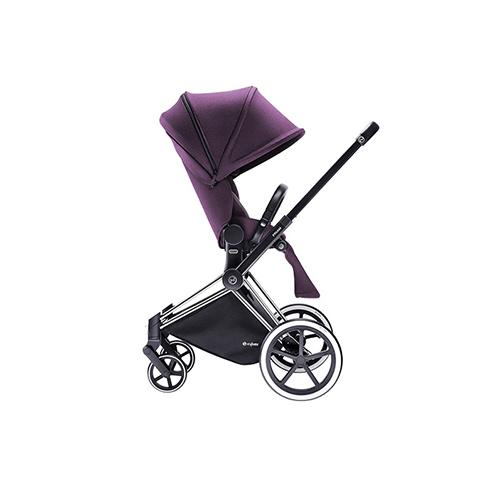 Passeggini - Passeggino Priam con seduta Lux e telaio Light Princess Pink - purple by Cybex