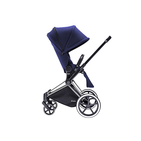 Passeggini - Passeggino Priam con seduta Lux e telaio Light Royal Blue - blue by Cybex