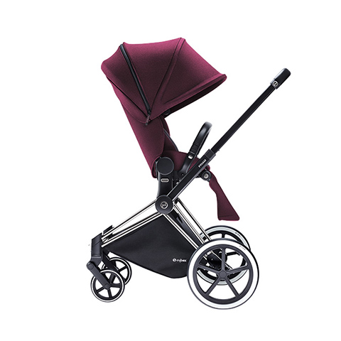 Passeggini - Passeggino Priam con telaio Light Grape Juice Denim - purple by Cybex