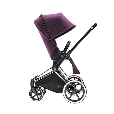 Passeggini - Passeggino Priam con seduta Lux e telaio Trekking Princess Pink - purple by Cybex