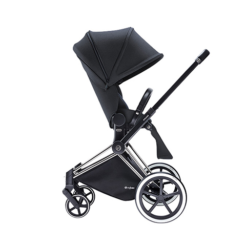 Passeggini - Passeggino Priam con telaio Light True Blue Denim - navy blue by Cybex