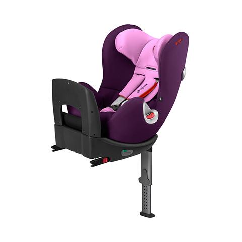 Seggiolini auto Gr.0+/1 [Kg. 0-18] - Seggiolino auto ISOFIX Sirona Grape Juice - purple by Cybex