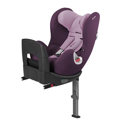 Seggiolini auto Gr.0+/1 [Kg. 0-18] - Seggiolino auto ISOFIX Sirona Princess Pink - purple by Cybex