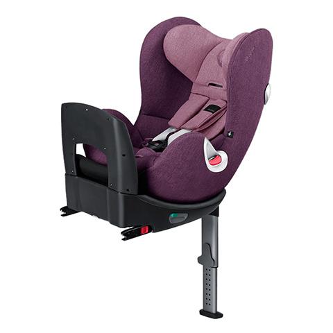 Seggiolini auto Gr.0+/1 [Kg. 0-18] - Seggiolino auto ISOFIX Sirona Plus Princess Pink - purple by Cybex