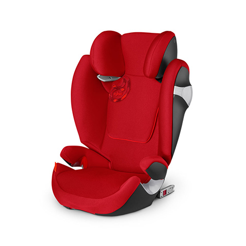 Seggiolini auto Gr.2/3 [Kg. 15-36] - Solution M-Fix Hot & Spicy - red by Cybex