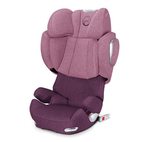 Seggiolini auto Gr.2/3 [Kg. 15-36] - Seggiolino auto gruppo 2,3 Solution Q2-Fix Plus Princess Pink - purple by Cybex