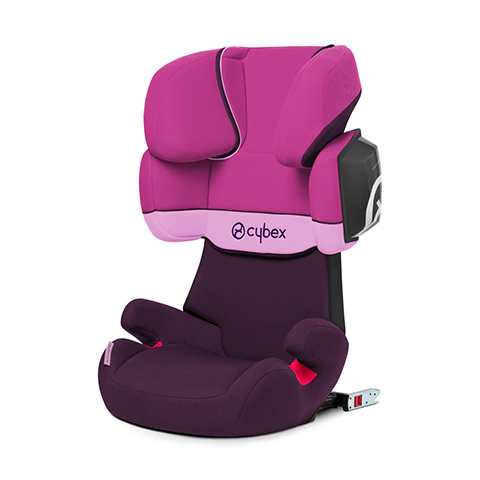 Seggiolini auto Gr.2/3 [Kg. 15-36] - SOLUTION X2-FIX Purple Rain - purple by Cybex