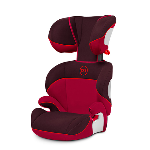 Seggiolini auto Gr.2/3 [Kg. 15-36] - Seggiolino auto Solution Rumba Red - dark red by Cybex