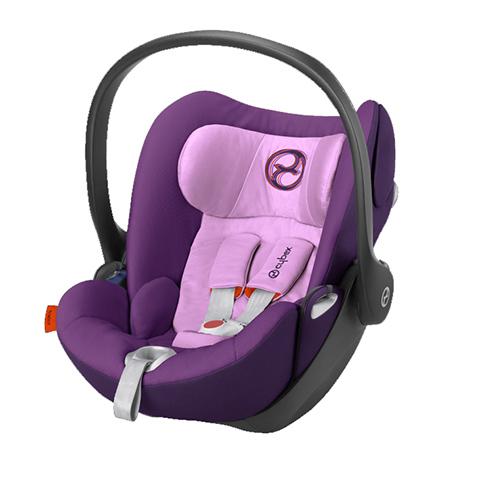 Seggiolini auto Gr.0+ [Kg. 0-13] - Seggiolino auto Cloud Q Grape Juice - purple by Cybex