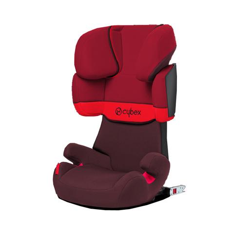 Seggiolini auto Gr.2/3 [Kg. 15-36] - Seggiolino auto Solution X-Fix - sistema ISOFIX Rumba Red - dark red by Cybex