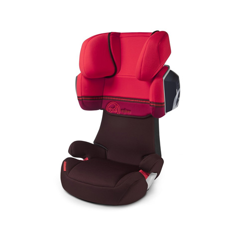 Seggiolini auto Gr.2/3 [Kg. 15-36] - Solution X2 Poppy Red-red by Cybex