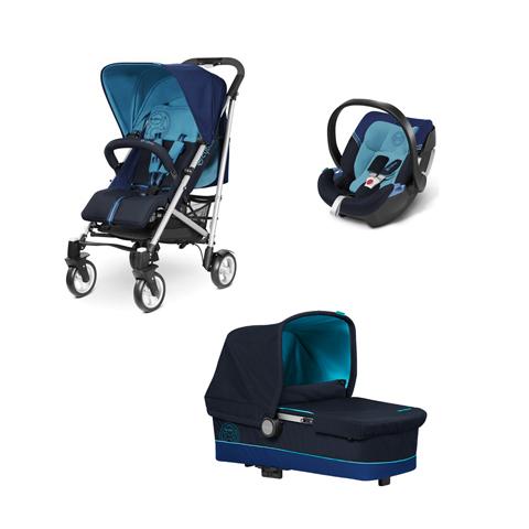 Sistema 3en1 cochecito silla de auto silla de paseo cybex callisto 3 in 1 ocean ebay - Silla de auto cybex ...
