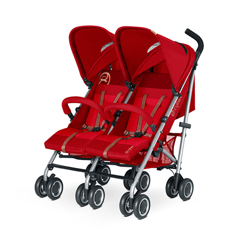 Linea gemellare - Twinyx Hot & Spicy - red by Cybex