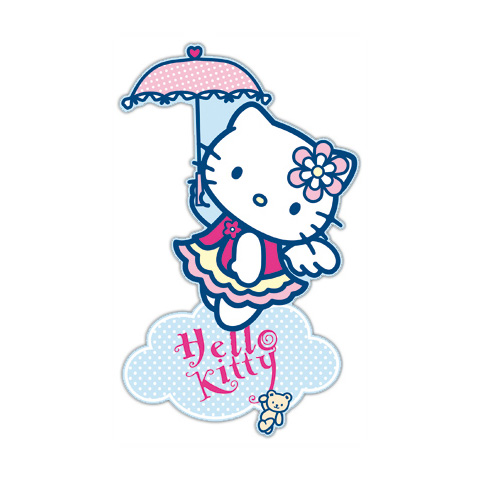 Complementi e decori - Maxisagome adesive Decofun DE 23578 Hello Kitty Angel by Decofun
