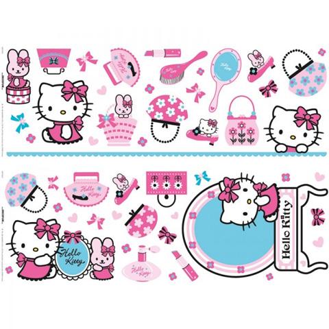 Complementi e decori - Superdec� - striscia DE 41060 Hello Kitty by Decofun