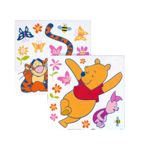 Complementi e decori - Deco Figure Stickers - Medium DE 43121 - Pooh Nature Trail by Decofun