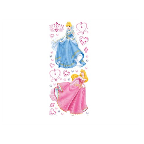 Complementi e decori - Deco Figure Stickers - Large DE 43211 - Princess Jewels by Decofun
