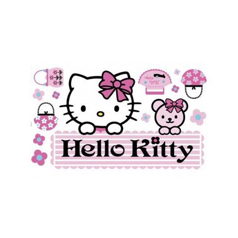 Complementi e decori - Adesivo murale removibile - Large DE 43260 Hello Kitty by Decofun