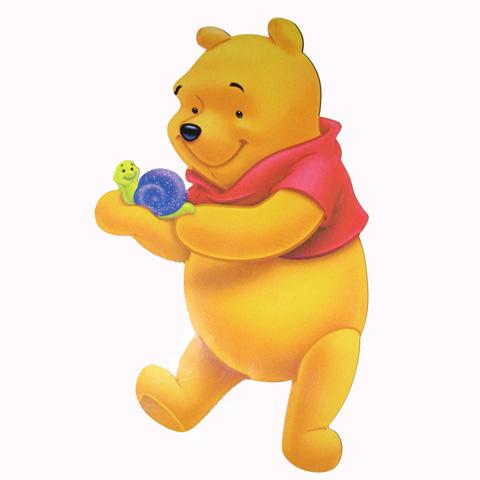 Abbigliamento e idee regalo - Decoro Winnie per armadio/cassettiera/lettino - grande grande by Culla del Bimbo