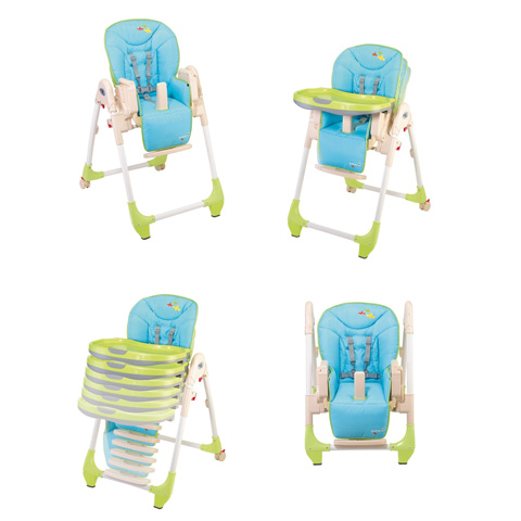 chaise haute b b babideal dinner star kite smiling planet ebay. Black Bedroom Furniture Sets. Home Design Ideas