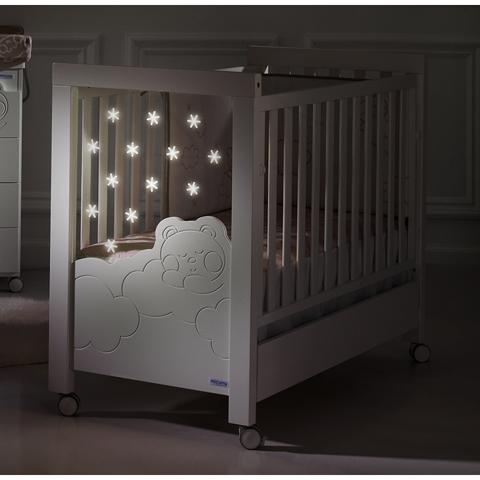 Lettini - Dolce Luce Relax Plus [con sistema di illuminazione] BIANCO by Micuna