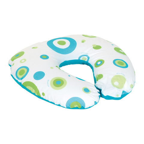 Accessori vari - Cuscino allattamento Softy piccolo BOLLE TURCHESE s20 by DooMoo