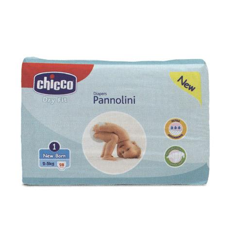 Il cambio (pannolini, etc.) - Dry Fit - Newborn [2-5 Kg] - 28 pezzi NEWBORN [1] by Chicco