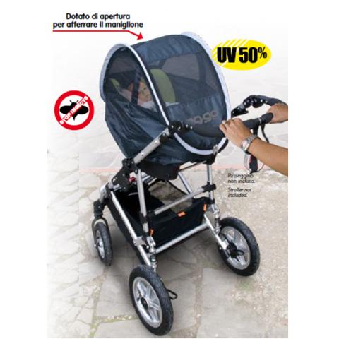 Accessori per il viaggio del bambino - Eg-go - guscio protettivo per il seggiolino auto 0+ nero [EKK011] by Ekko
