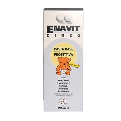 Il cambio (pannolini, etc.) - Enavit Zinco - pasta base protettiva tubo 30 ml. by Inlinea
