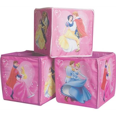 Complementi e decori - 3 scatole portatutto Principesse Garden 33574 by Eurasia